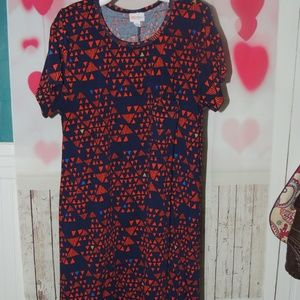 Lularoe size XL Carly dress